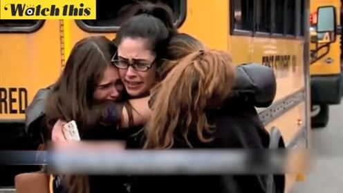 威斯康辛一学生持枪进入校园 警察苦劝未果后将其击倒