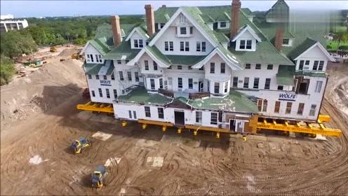 这么多的房子也能一车搬走,太牛了,真是难得一见!
