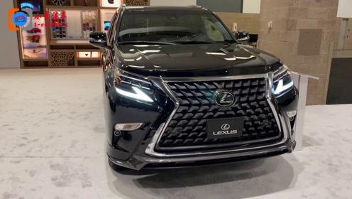 新颜值不输宝马X5,定位豪华级SUV,2020雷克萨斯GX 460实拍来袭