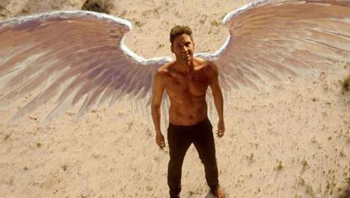 国外小伙整容上瘾,花百万在后背镶上翅膀,可以飞起来吗?