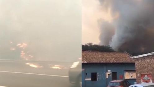紧急!佛山山火已持续26小时 福建北京等多地消防紧急驰援救火