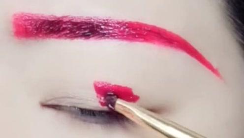 撕掉也很美的眼妆,化妆新手看过来,超简单