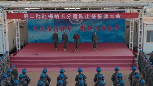 中国维和工兵紧急向马里梅纳卡派出第二批分遣队