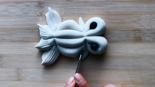 自己动手也能做小鱼馒头,简单又有创意,方法大公开,拿走不谢!