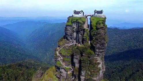 贵州最牛的房子:矗立在大山险峰上,看一眼腿都软了!