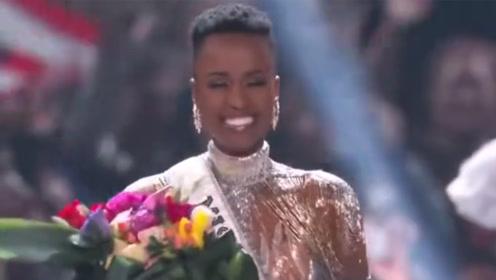 南非黑珍珠夺2019环球小姐桂冠:我们从不被视作美丽