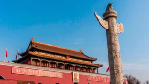 """天安门前的""""大柱子"""",立了500多年,如今才知道它真正的作用!"""