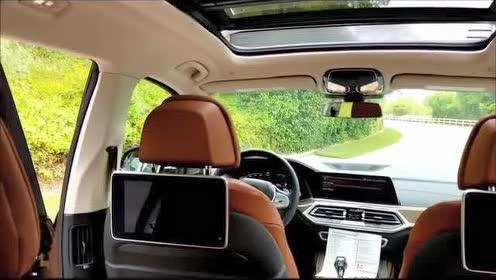 外媒介绍2019款 BMW X7 40i 的内部细节