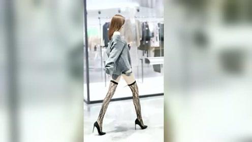 小姐姐这大长腿真漂亮