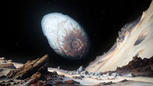 宇宙中的冻鸡蛋,太阳系边界的妊神星,宇航员站上面得被甩出去!