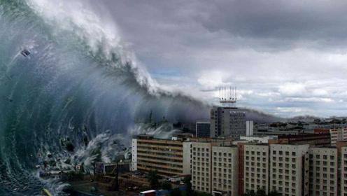 """世界""""最强""""的海啸,巨浪高达524米,幸存者至今难忘震撼场面"""
