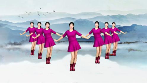 2020春节跳这个广场舞《吉祥中国年》跳出吉祥喜庆,超级棒