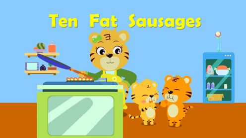 贝乐虎英文儿歌 14 Ten Fat Sausages