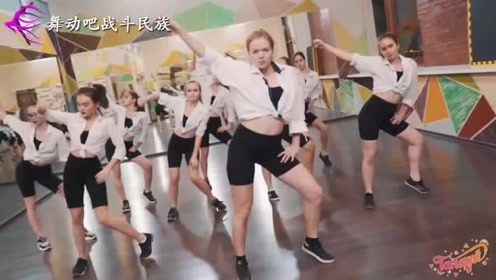 """带劲!俄罗斯女中学生跳街舞,网友:战斗民族""""女汉子"""""""