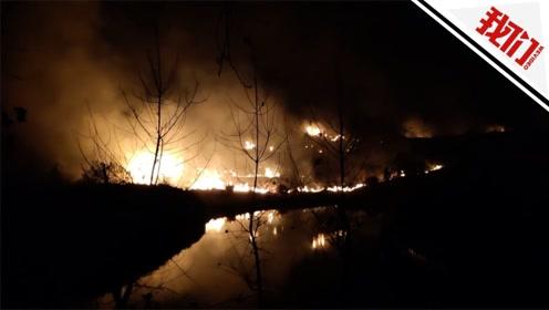 南昌理工学院附近山头失火 消防:在校园外发生 未有人员伤亡