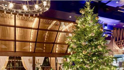 全球最贵圣诞树:挂满奢侈品,价值1190万英镑