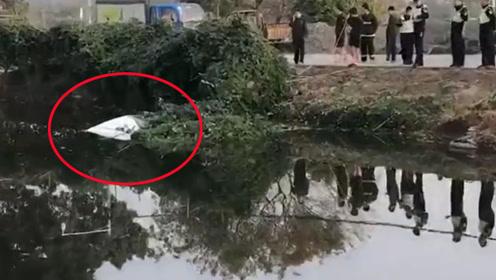 小车冲落鱼塘被打捞上岸 车内人员竟离奇失踪