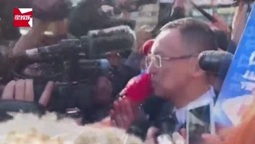 浙江卫视总监出席高以翔追悼会:连说5次非常伤心,被问赔偿避而不谈