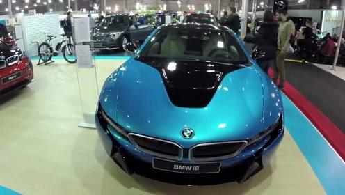 太酷了!2019 宝马BMW i8静态全体验