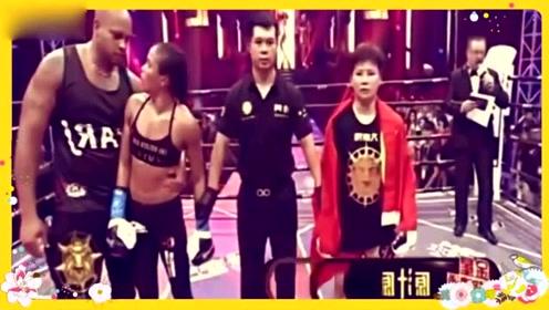 中国妹子被世界顶级拳王全场暴打,但她的回应让全场观众疯狂!
