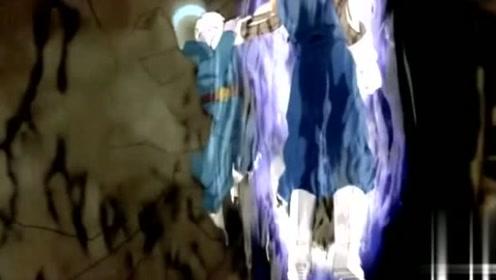 龙珠超最强的对决,合体战士贝吉特VS大神官,大神官被虐的好惨