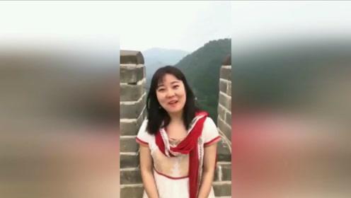 中国女孩用印度古典语介绍长城 印网友:发音让人沉迷