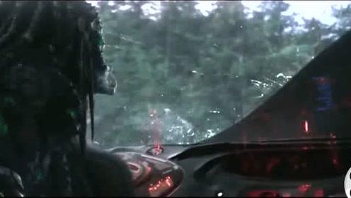 外星人这隐形飞船厉害了,隐形保护罩非同一般!