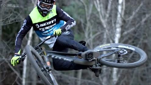 著名自行车品牌SCOTT,斯科特旗下的山地速降车队!