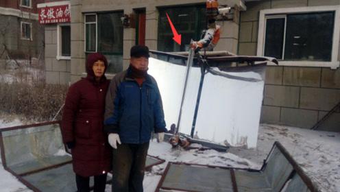不用气不用电,中国大叔发明室内太阳能灶,一次做几十斤饭菜