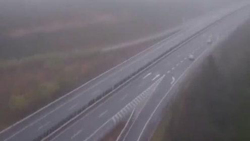 与时间赛跑 移植器官被困浓雾交警开路全程护送