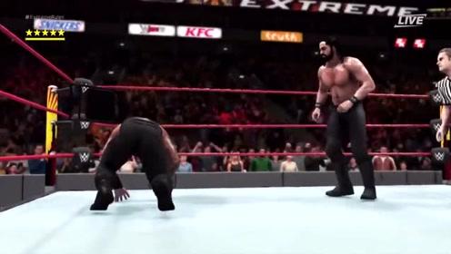 搏击大挑战:他已经倒在了擂台上,但仍站起来反抗!