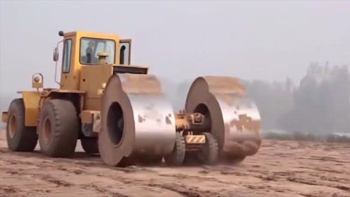 科技探秘:工地上罕见的大型工程机械,干活效率就是高