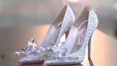 一双jimmy_choo婚鞋居然要3万多,果然漂亮大气