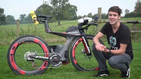 专为铁人三项打造的自行车,售价20万全球限量25台,效果称赞