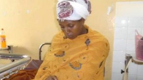 硬核产妇!非洲女子产后半小时轻松参加3门考试