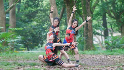 想让人一探究竟!中国舞《西盟花》一种神秘的丛林风格