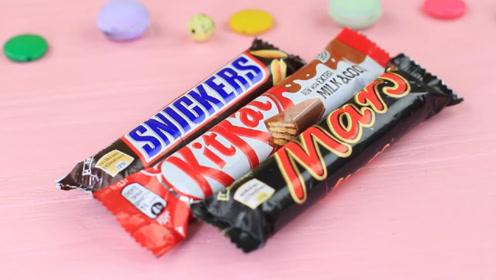 马克笔vs巧克力糖,你能猜出哪个是学习用品吗?趣味食玩diy