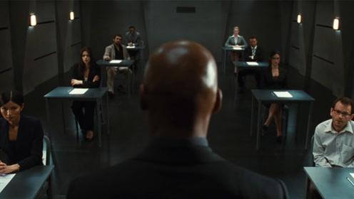 八人参与最终一轮面试,试卷是一张白纸,只要写字就会被淘汰