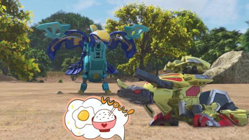 咖宝蛋神特拉轰肚子饿的咕咕叫,大力轰说原因是这个!