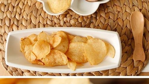 为什么薯片那么好吃?原料真的是土豆吗?看完加工过程明白了
