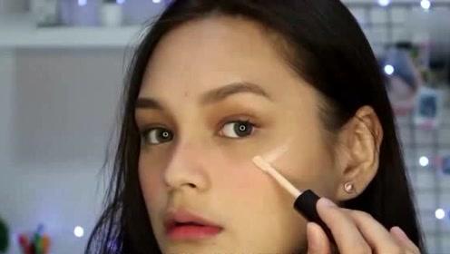 如果你的脸型偏圆 化妆时一定要掌握这3个方法