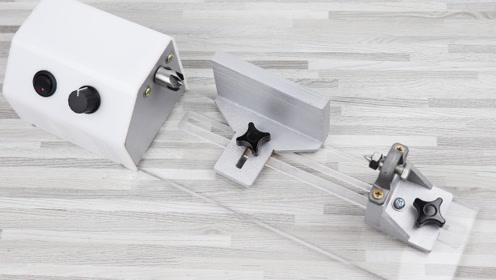 自制强力小车床手工DIY无极调速895马达木工台式车床机