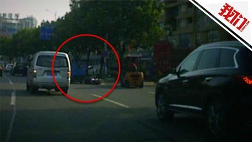 民警上班途中目睹肇事逃逸 千米惊险追击将肇事者堵入死胡同