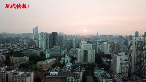 8月22日南京的夕阳