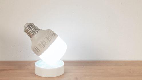 如何自制一台创意小台灯 手工DIY实用RGB床头灯