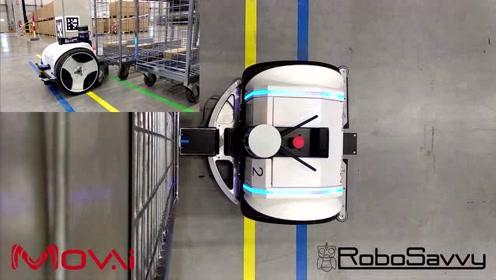 形似平衡车,结构最紧凑的牵引式AGV