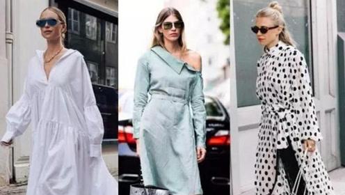 秋天怎么能少了衬衫裙呢?!实在找不出拒绝它的理由