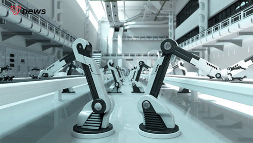 工博会现场:记者探访超酷炫工业机器人