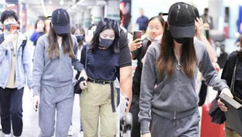 迪丽热巴走机场要搀扶疑身体出现状况 惹粉丝担心不已