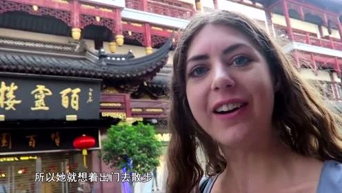 美国美女到中国,看到凌晨四点的城市,直言:这不可能是中国!